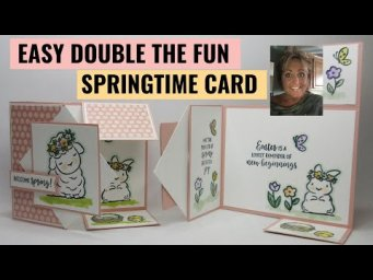Double the Fun Easter Fold Card