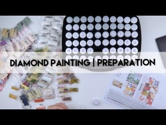 Diamond Painting - Preparation | Tinkerbell