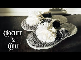 Calm Crocheting || 1920s Slippers || Historical Crocheting