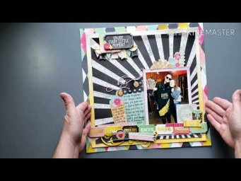 Scrapbook Layout Share