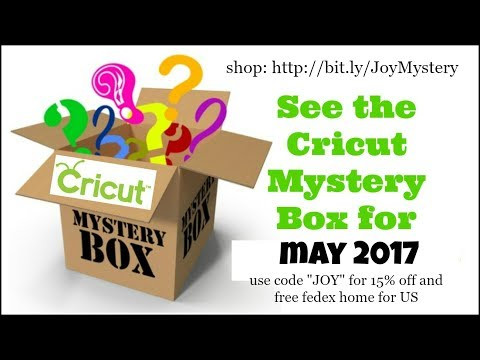 See the May 2017 Pen and Cartridge Cricut Mystery Box