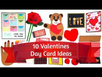 10 Cute & Easy Greeting Cards for Valentines Day by Srushti Patil | Valentine's Day Card Ideas