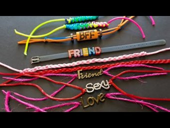 Friendship Band Tutorial|| How to Make Friendship Bands || Friendship day special band Making