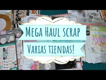 Mega Haul Sizzix, Paper District y Variations Créatives!
