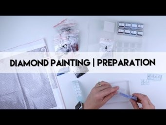 Diamond Painting - Preparation | Mystery Painting Fansells