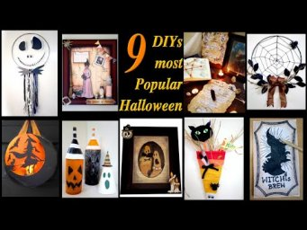 9 Most Popular, Elegant, Unusual & Cheap Farmhouse Halloween Decor DIY / MomDas Life Handmade