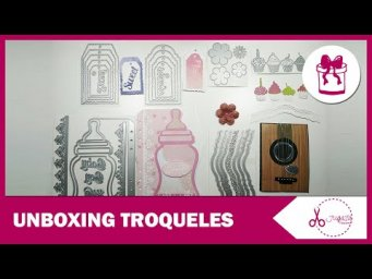 UNBOXING - TROQUELES SURPRISE CREATION | SCRAPBOOKING | JUGASA