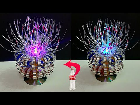 DIY: NEW Tealight holder/Showpiece made from Plastic Bottle | DIY home decoration idea