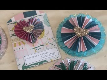 Craft with Me - Let's Make Embellishments!