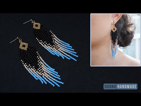 How to make Native American Style Earrings