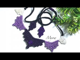 MACRAME NECKLACE TUTORIAL- MYOW 145