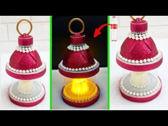 New Easy Lantern/Lampshade with Waste plastic bottle at home| DIY Home Decorations Idea