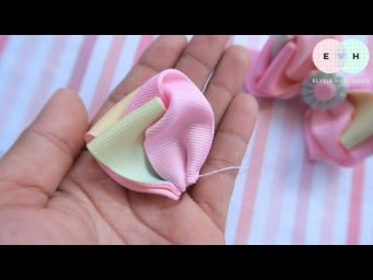How To Make A Bow With Ribbon — Ribbon Tricks & Easy Making Tutorial #89