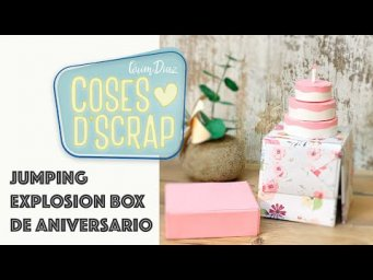 Jumping Explosion Box de Aniversario (caja Pop Up)