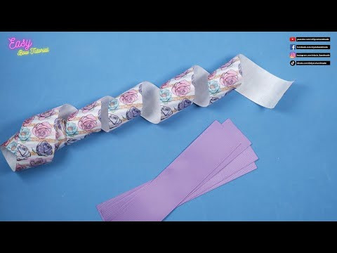 DIY Hair Accessories - Beautiful Purple Bow Ideas For Your Daughter - Elysia Handmade