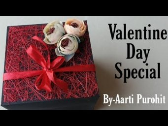 Valentines Day Special Gift|| Valentine's Day special Explosion Box ||Box with Proposal Ring