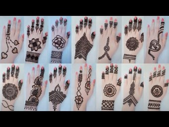 Top 50+ Letest & Simple Mehndi Design For Eid_Arabic Henna Design_ Mehndi Ka Design