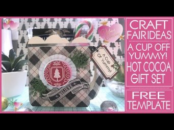 Craft Fair Ideas 2019 - A Cup of Yummy - Hot Cocoa Gift Set - Masculine Christmas Gift Idea!