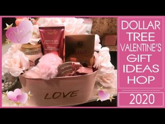Dollar Tree Valentine's Gift Ideas Hop - A Bucket of Love