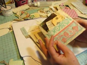 Let's Decorate Journal Pages, Part 2: More Shabby Pages