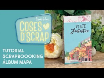 Tutorial Scrapbooking álbum mapa