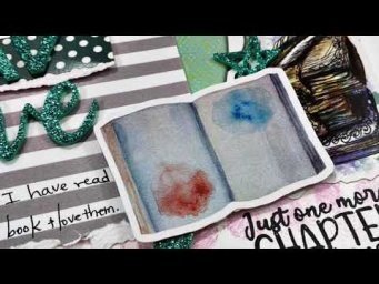 Scrapbooking Process Video: Fav Author
