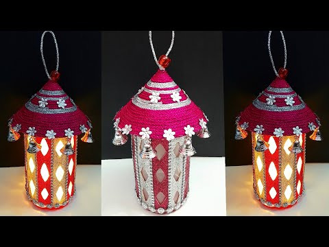 DIY New Lantern made from Plastic jar| Best out of waste home decoration idea