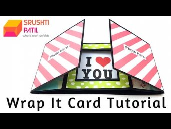 Wrap It Card Tutorial by Srushti Patil