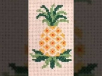 Cross Stitch / basic hand embroidery design for beginners / Heavenly Handmade Creations