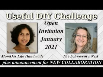 Useful DIY Challenge January 2021 Open Invite