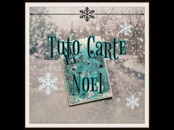 Tuto carte Noel ensemble!!! #scrapbooking #carte #card #christmascard #cartenoel #noel #christmas