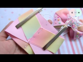 Amazing Ribbon Bow - Hand Embroidery Works - Ribbon Tricks & Easy Making Tutorial #69