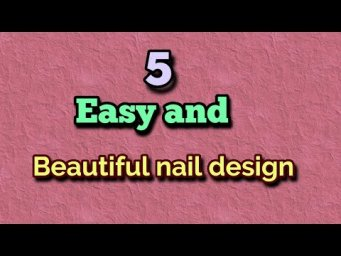 5 Gorgeous nail art  #short, #youtube