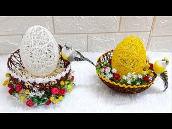 DIY 2- Easy Easter Egg Decoration idea step by step at home |DIY Low budget Easter décor ideas
