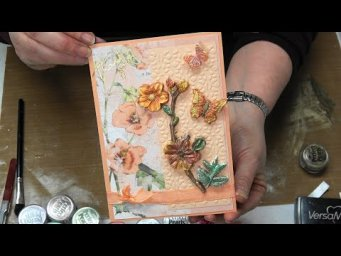 #359 How to use Re-Design dimensional products by Prima in your cardmaking, layouts and DIY crafts