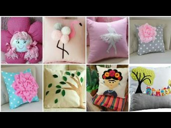 Beautiful easy pillow decor ideas / Pillows Cushions Ideas 2020 /  Cushion Cover Design