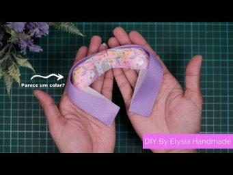 Laços Enrolados Fita N5 - Amazing Ribbon Bow Tutorial & Easy Bow Making | DIY By Elysia Handmade