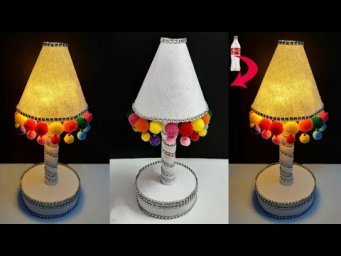 DIY Handmade Tealight holder/Lamp made from Plastic Bottle| Best out of waste home decoration ideas