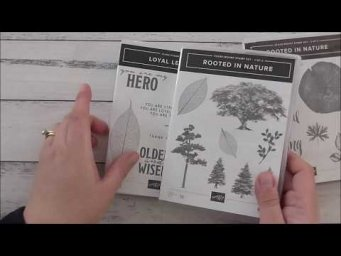 Stampin Up Loyal Leaves Rooted In Nature Subtle Card With In Depth Silhouette Cameo PixScan Tutorial