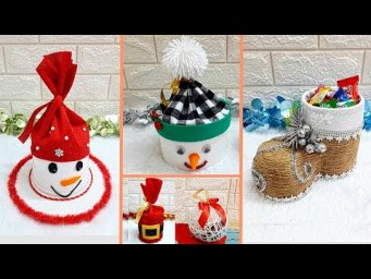 5 Handmade Christmas/New year Gift idea | Best out of waste Low budget Christmas gift craft idea