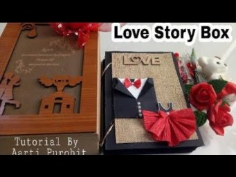 Surprise Love Story Box Tutorial||Surprise Love Box For Valentines day||Best Valentines day Gift