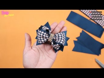 DIY Hair Accessories - Amazing Bows Tutorial for Beginner - Elysia Handmade