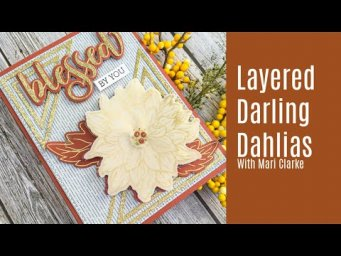 Layered Darling Dahlias