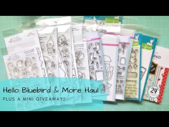 Hello Bluebird Summer 2020 Release & More + a Mini Giveaway