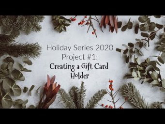 Making a Simple and Easy Gift Card Holder