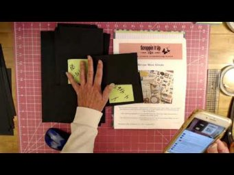 Learn How To Make The Recipe Mini Album Live Class Part 4