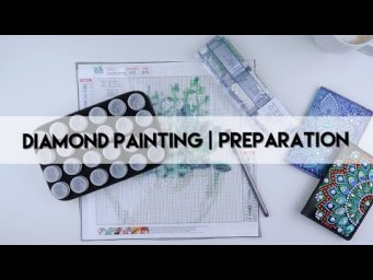 Diamond Painting - Preparation | Succulent
