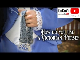Knitting A Victorian Miser's Purse || Historical Knitting