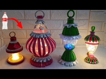 Best out of waste 6 Lantern/Lampshade from empty plastic bottle at home | DIY Home Decorations Idea