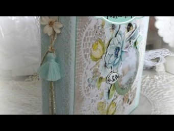 "Scrap tuto Album Dream ""Morning"" 1ère partie"